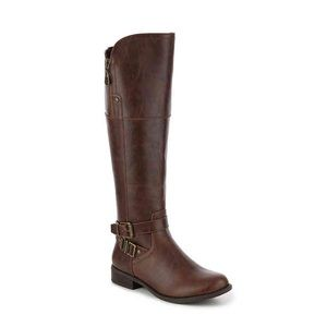 e357b902f152 G BY GUESS HEYLOW RIDING BOOT